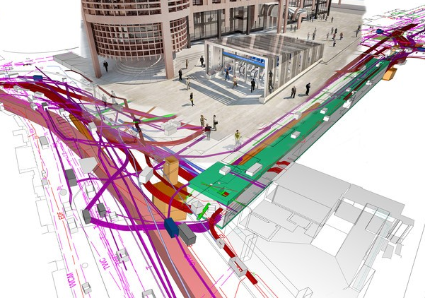 Crossrail and bentley launch bim information academy spar 3d for Bim academy
