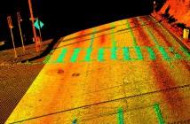 LiDAR Road Scan