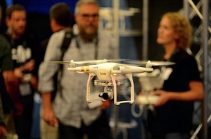 Photograph from UAV Expo