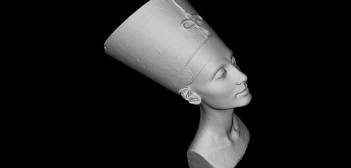 Nefertiti 3D Rendering