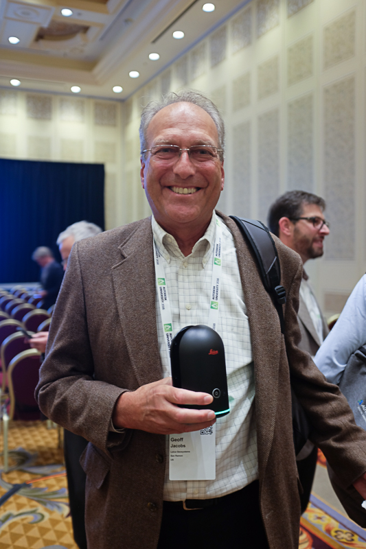 Geoff Jacobs and the Leica BLK360