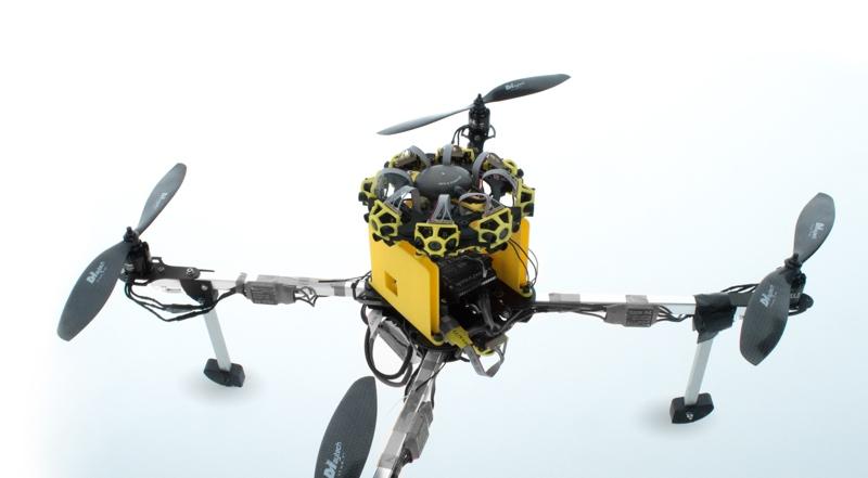 Low-Cost Static Lidar Offers Collision Detection for Drones - SPAR 3D