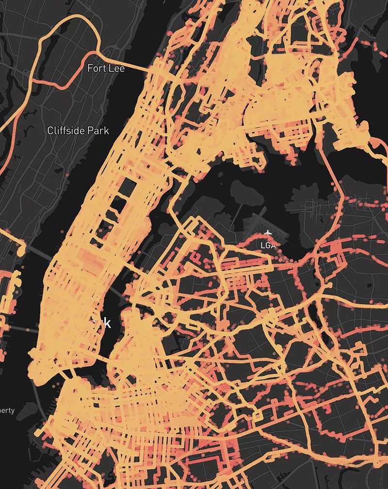 Carmera's NYC coverage map