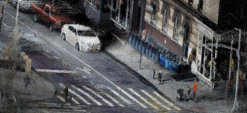 A point cloud of the West Village, NYC.