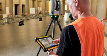 Trimble X7 scanning system includes automatic registration