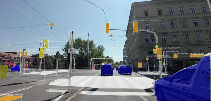 Mapillary maps objects detected in imagery using deep learning in 3D