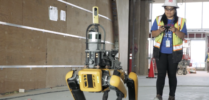 HoloBuilder and Boston Dynamics launch SpotWalk for autonomous reality capture