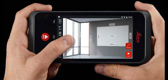 Leica BLK3D Web allows users to share 3D measurable images