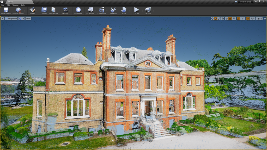 Unreal Engine 4 25 Includes Built In Support For Laser Scanned Point Clouds