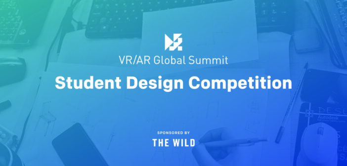 Student design competition for VR/AR Global Summit open for submissions