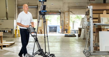 The Focus Swift is FARO's new speedy indoor mobile mapping solution