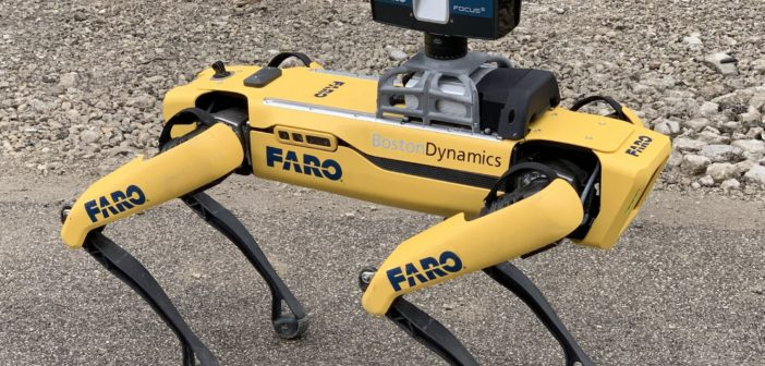 FARO and Boston Dynamics announce Trek integration for automated 3D scanning