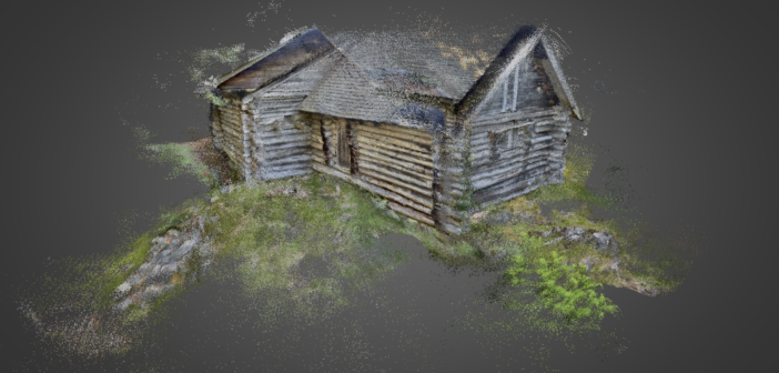 Beta app SiteScape uses iPad's lidar to capture compelling point clouds