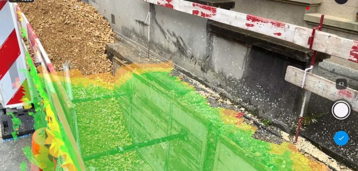 Pix4D debuts mobile app for georeferenced 3D capture, optimized for iOS lidar
