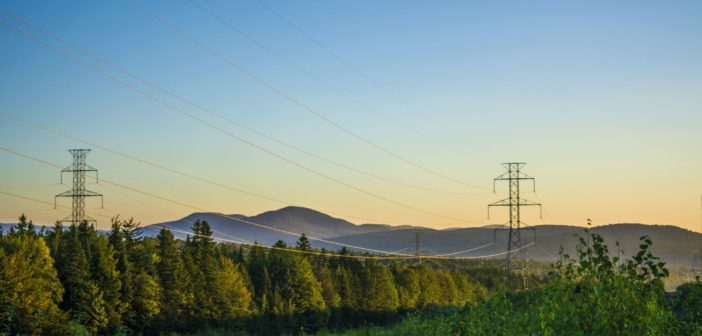 Using satellites to monitor the US electric transmission grid