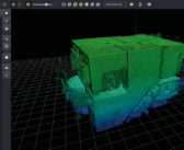 Connect platform from GeoSLAM targets point cloud processing